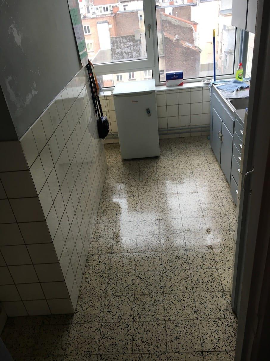 Exemple de nettoyage après décès - Après