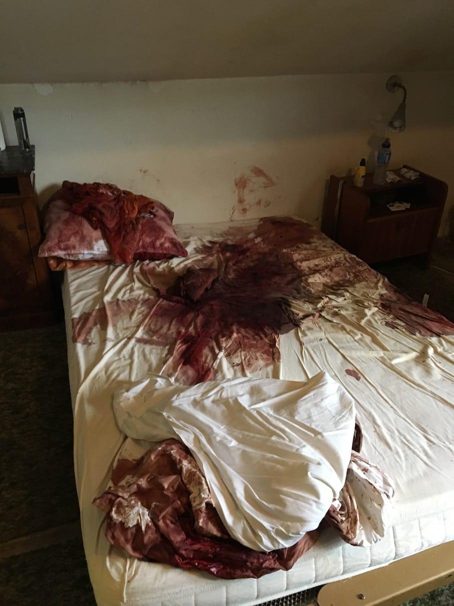 Exemple de nettoyage après décès - Galerie photo